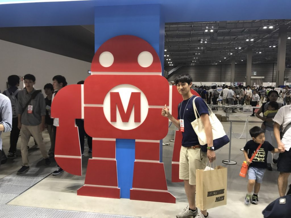 Maker Faire  Tokyo 2017に潜入してきました!